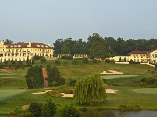 golfing at historic keswick hall