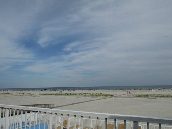 Granada Ocean Resort: View from balcony - Room 214 Oceanfront July 2013