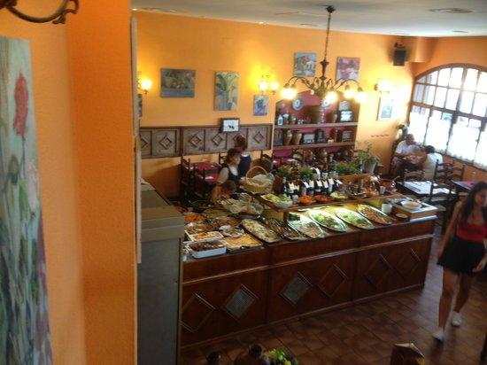El Tiberi bufet gastronomía tradicional catalana: Le buffet
