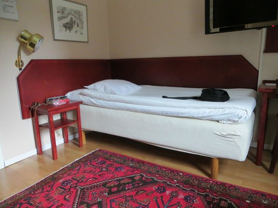 Hotel Orgryte: Single bed in a combi room