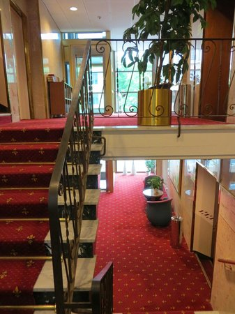 Hotel Orgryte: Stairway between floors