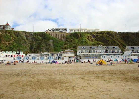 Tolcarne Beach: beach