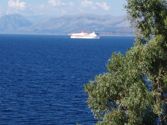 Kassiopi Bay: Utsikt fra ballkongen