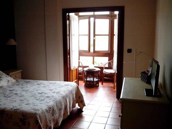 Hotel La Boriza: habitación con balconcito!