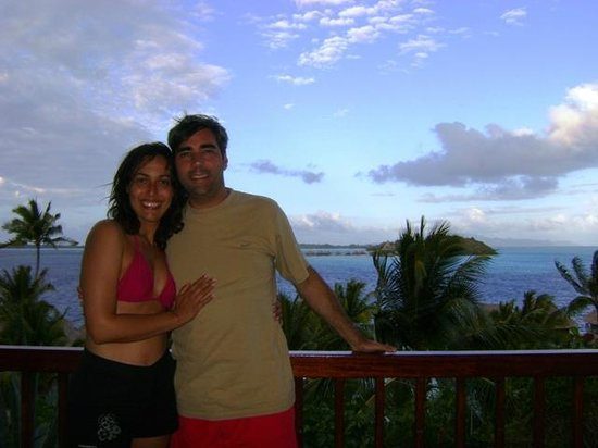 Maitai Polynesia Bora Bora: Vista dalla Ocean view room