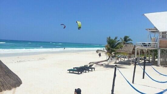 Hotel Playa Kin Ha : la playa