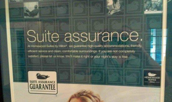 Homewood Suites by Hilton Rochester / Henrietta: Suite Assurance Gurantee