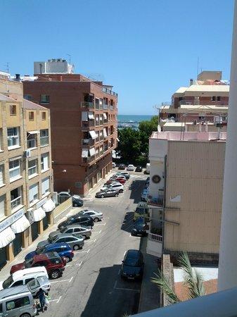 Nou Rocamar: belle vue sur la mer de ma chambre