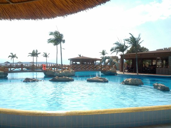 Kandia's Castle Hotel, Resort & Thalasso : The pool bar