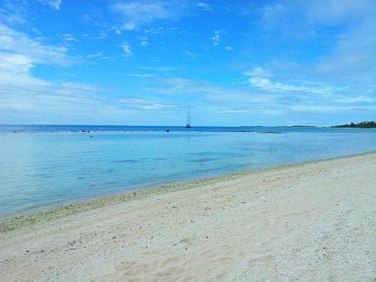 Tikehau Village: spiaggia dell'hotel