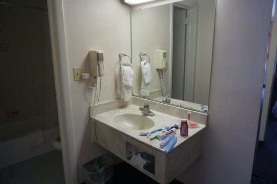 EconoLodge & Conference Center: vanity area