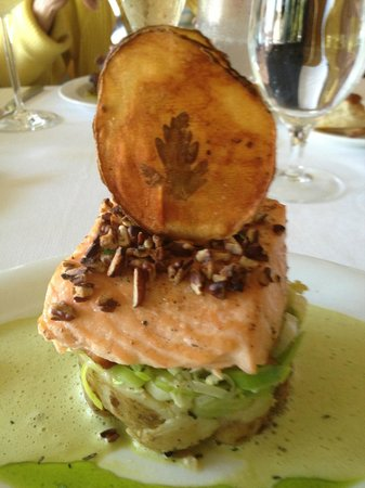 Inn at the Mill: salmon