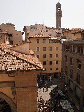 Relais Cavalcanti: vue de notre chambre (donatelo)