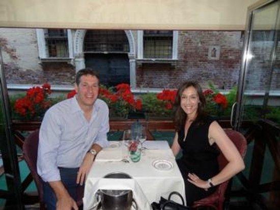 Italy Rome Tour: At Da Fiore restaurant in Venice