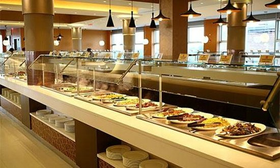 Hot Steam Table Picture Of The Buffet Flushing TripAdvisor - Cafeteria steam table