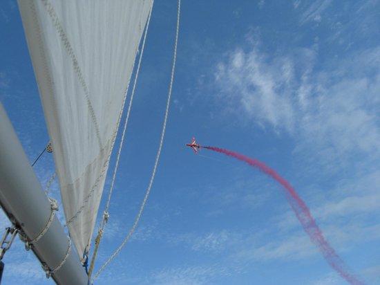 Bay Sea School: Red arrow!