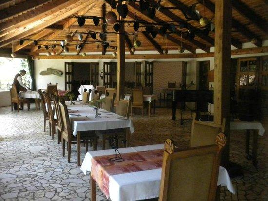 Dik Dik Hotel: Dining area.