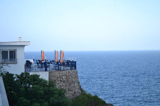 Club Menorca: Dal balcone..