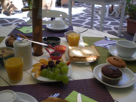 Hotel Attiki : colazione