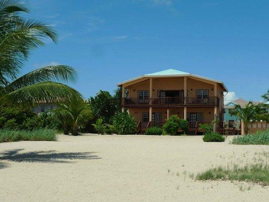 Mirasol Beach Apartment: View from Caribbean Sea