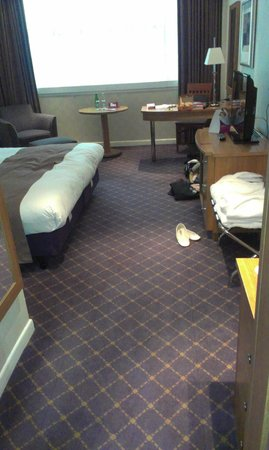 Crowne Plaza Hotel Nottingham: Executive bedroom