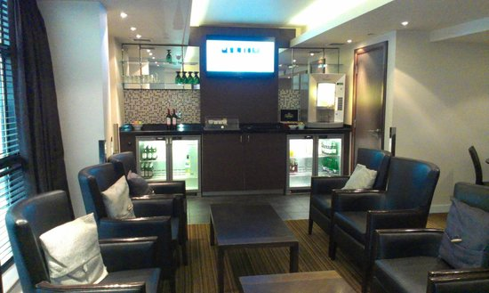Crowne Plaza Hotel Nottingham: Awesome executive lounge