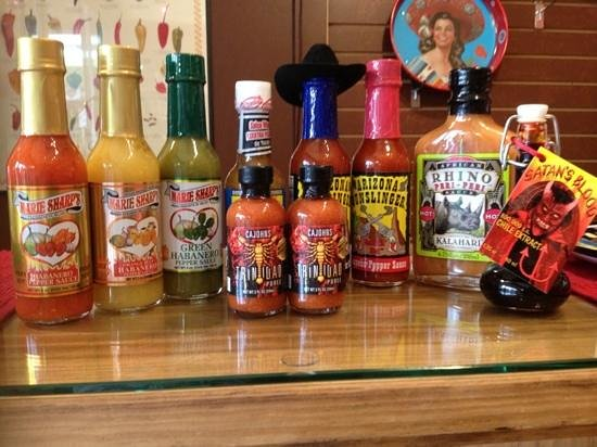 Jerome Ghost Pepper Co: Hot Sauce