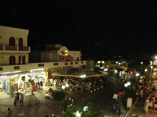 Tabasco: vista do restaurante