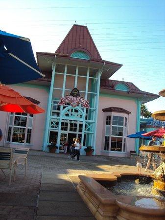 Disney's Caribbean Beach Resort: Food Court & Gift Store