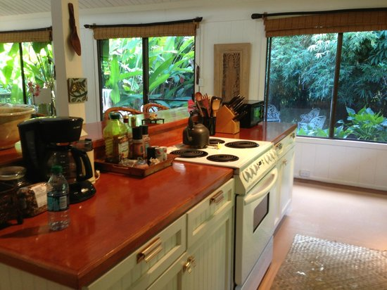 The Guest Houses at Malanai in Hana: Kitchen supreme