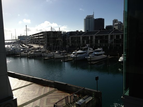 Sofitel Auckland Viaduct Harbour: View of Marina Auckland