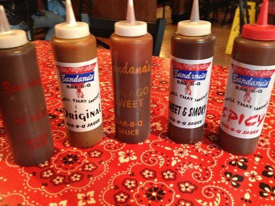 Bandana's Barbecue: Barbecue Sauces @ Bandana's
