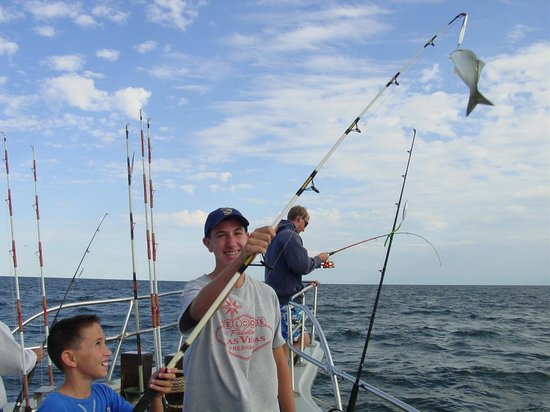 Proud picture of queen mary party fishing boat for Point pleasant fishing charters