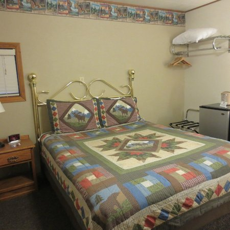 Alpine Motel: Single Queen Room