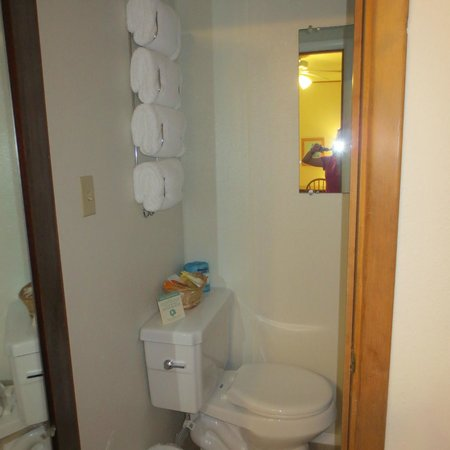 Alpine Motel: Toilet/shower