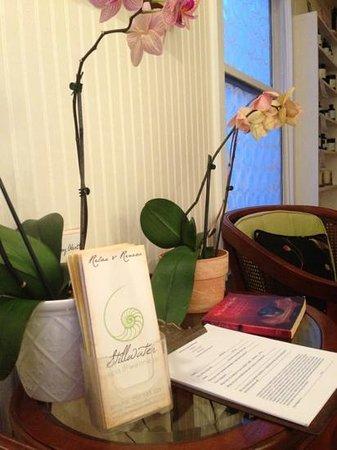 Stillwater Spa & Wellness: beautiful orchids