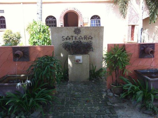 Satkara Spa at Casa del Mar: Entrance to Spa