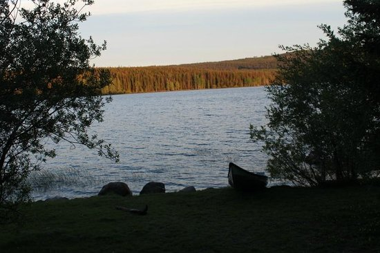 Postill Lake Lodge & Campsite: View from cabin 10