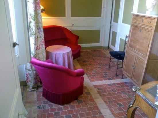 Chateau du Rozel : afzonderlijke zitruimte