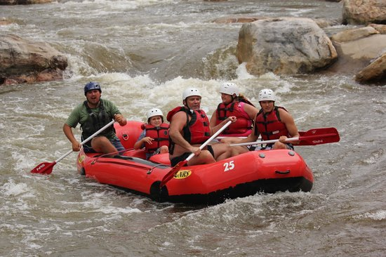 Adventure Sports Center International: river fun
