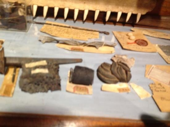 Mabee-Gerrer Museum: oddities