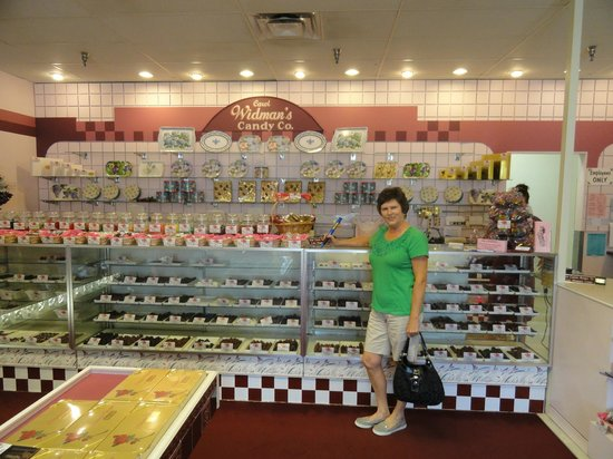Widman's Candy Shop: Too much time.  Not enough chocolates!