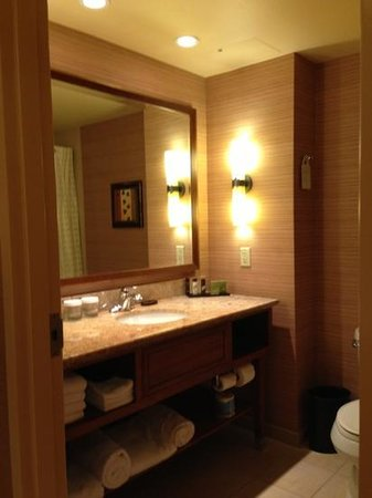 Embassy Suites by Hilton Loveland - Hotel, Spa and Conference Center: bathroom sink area
