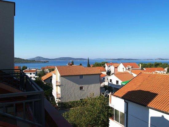 Hotel Jadran Plavi: View from the balcony