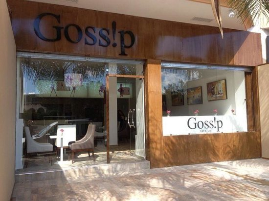 Gossip Art Cafe : The place