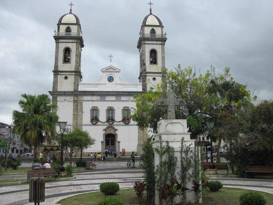 Iguape, SP: Vista da praça