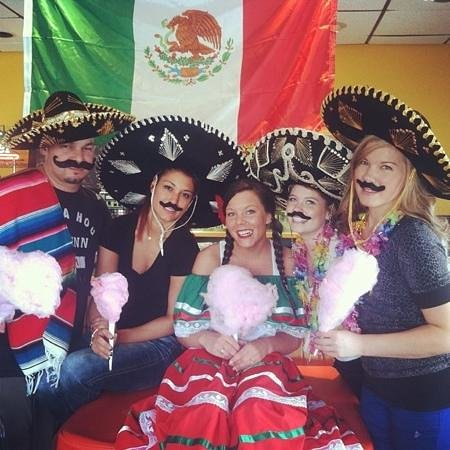 Lupe's Mexican Restaurant: some of the lupes crew cinco de mayo