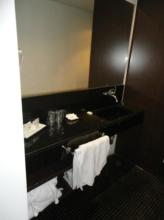 Hotel Plaza Fuerte: Quarto 205 (banheiro)