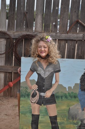Blazin' M Ranch: One of the cowgirls
