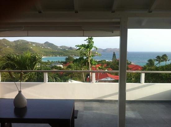 Hotel Le Village St Barth: this is the view we saw when we woke up:-))